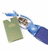 Leyva Luxe gespikkelde bretels, exclusief met leer afgewerkt