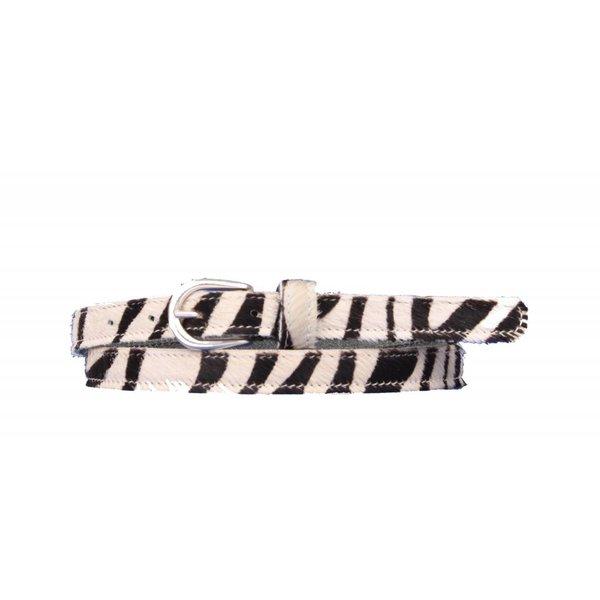 Mooie zebra damesriem