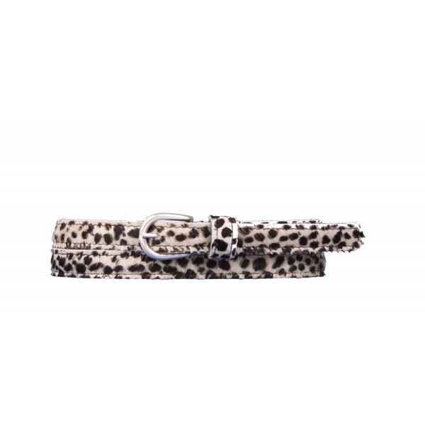 Mooie Cheetah white damesriem