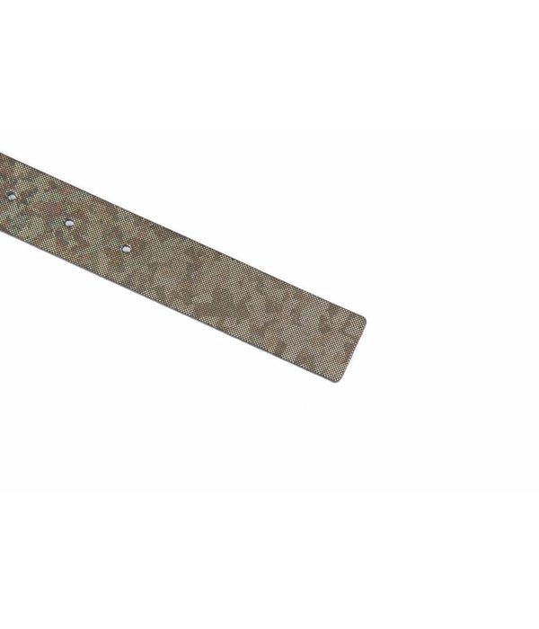 Alberto riemen Unieke bronze reflective riem
