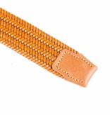 Alberto riemen Bronze elastische riem van hoogwaardig leer