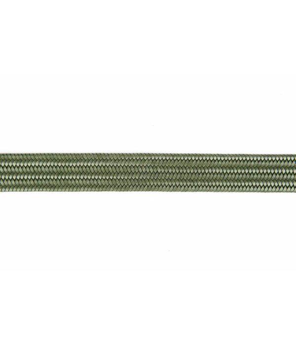 Alberto riemen Groene elastische riem van hoogwaardig leer