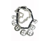 Lucky Boeddha Black Armband mit Charme