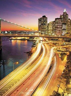 National Geographic fotobehang NYC Lights 8-516