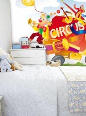 Little Ones fotobehang Circus Truck 418020