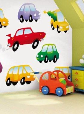 Little Ones fotobehang Dinky Cars 418008