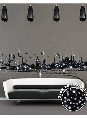Coart muursticker Istanbul Kristal DP-793