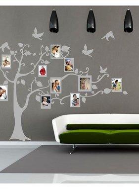 Coart muursticker Lovely Family-1 grijs DP-801 111
