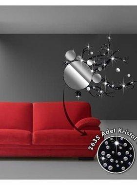 Coart muursticker Trap Spiegel Kristal DP-257