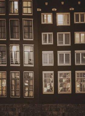 Dutch Wallcoverings fotobehang City Love Amsterdam Vintage Brown CL03C