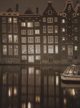 Dutch Wallcoverings fotobehang City Love Amsterdam Vintage Brown CL13C