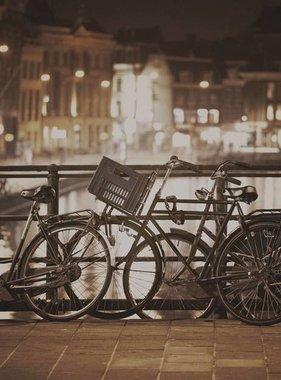 Dutch Wallcoverings fotobehang City Love Amsterdam Vintage Brown CL31C