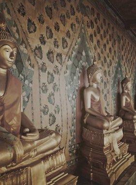 Dutch Wallcoverings fotobehang City Love Bangkok Vintage Brown CL57C