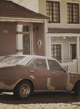 Dutch Wallcoverings fotobehang City Love Cape Town Vintage Brown CL50C