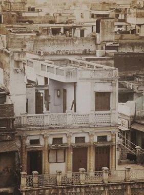 Dutch Wallcoverings fotobehang City Love Delhi Vintage Brown CL59C