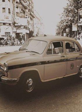 Dutch Wallcoverings fotobehang City Love Delhi Vintage Brown CL61C