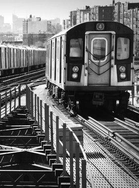 Dutch Wallcoverings fotobehang City Love New York Black and White CL02B
