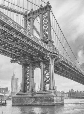 Dutch Wallcoverings fotobehang City Love New York Black and White CL04B