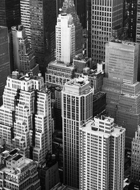 Dutch Wallcoverings fotobehang City Love New York Black and White CL12B
