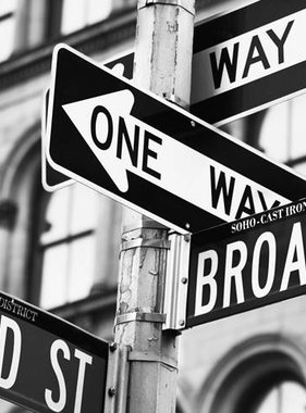 Dutch Wallcoverings fotobehang City Love New York Black and White CL20B