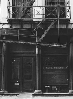 Dutch Wallcoverings fotobehang City Love New York Black and White CL22B