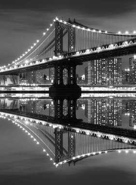 Dutch Wallcoverings fotobehang City Love New York Black and White CL30B