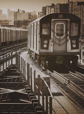 Dutch Wallcoverings fotobehang City Love New York Vintage Brown CL02C