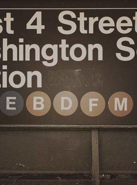 Dutch Wallcoverings fotobehang City Love New York Vintage Brown CL14C