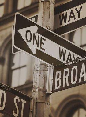 Dutch Wallcoverings fotobehang City Love New York Vintage Brown CL20C