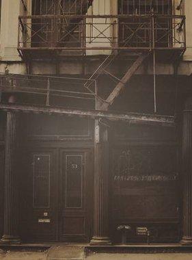 Dutch Wallcoverings fotobehang City Love New York Vintage Brown CL22C