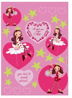 Freestyle muursticker Fairy 17007