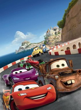 Disney fotobehang Cars Italy 1-402