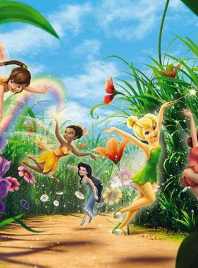 Disney fotobehang Fairies Meadow 8-466