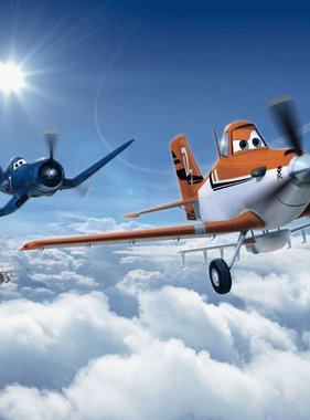 Disney fotobehang Planes Above the Clouds 8-465