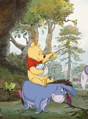Disney fotobehang Pooh 4-413
