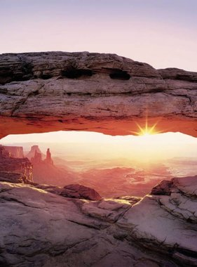 National Geographic fotobehang Arch Canyon 8-521