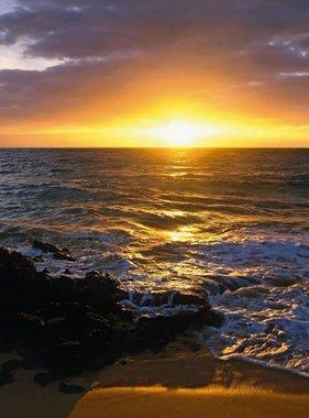 National Geographic fotobehang Makena Beach 1-607