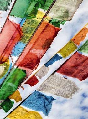 National Geographic fotobehang Prayer Flags 1-606