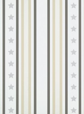 Room Seven behang Stars and Stripes Grey 2800081