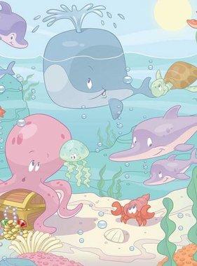 Walltastic fotobehang Baby Onderwater 1135BOK