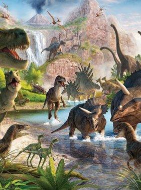 Walltastic fotobehang Dinosauruskamer 1247DK