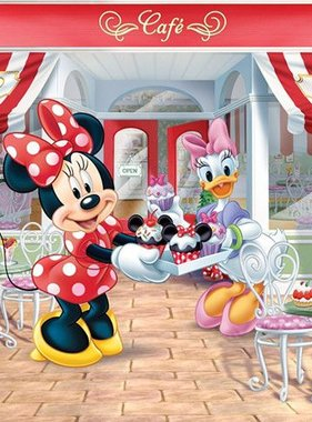 Walltastic fotobehang Disney Minnie Mouse 1361DMI