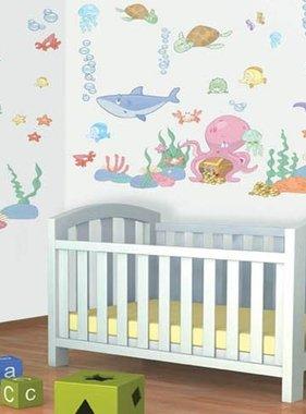 Walltastic muursticker Baby Onderwater Room Decor Kit 41073