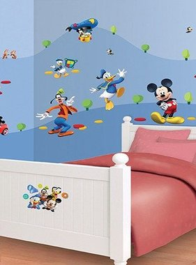 Walltastic muursticker Disney Mickey Mouse Room Decor Kit 41448