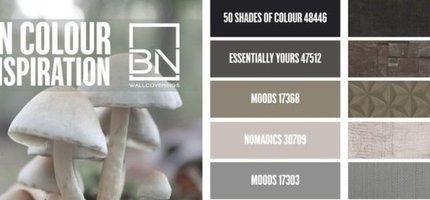 Trends behangkleuren najaar van BN Wallcoverings