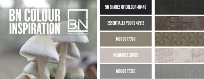 Trends behangkleuren najaar van BN Wallcoverings