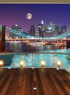 Walltastic fotobehang Brooklin Bridge NYC XXL 43626
