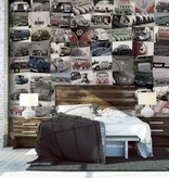 1Wall 1Wall fotobehang Creative Collage Volkswagen