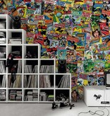 1Wall 1Wall fotobehang Creative Collage Comics