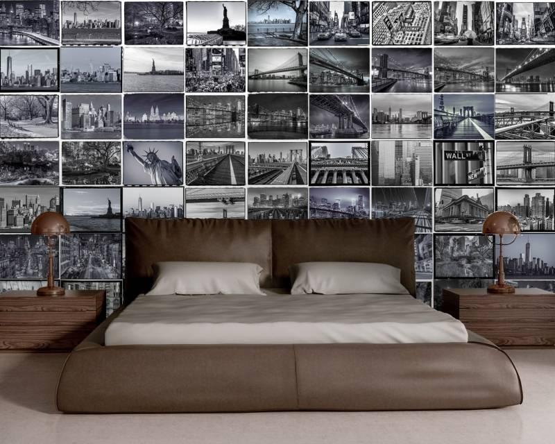 1Wall 1Wall fotobehang Creative Collage Big Apple